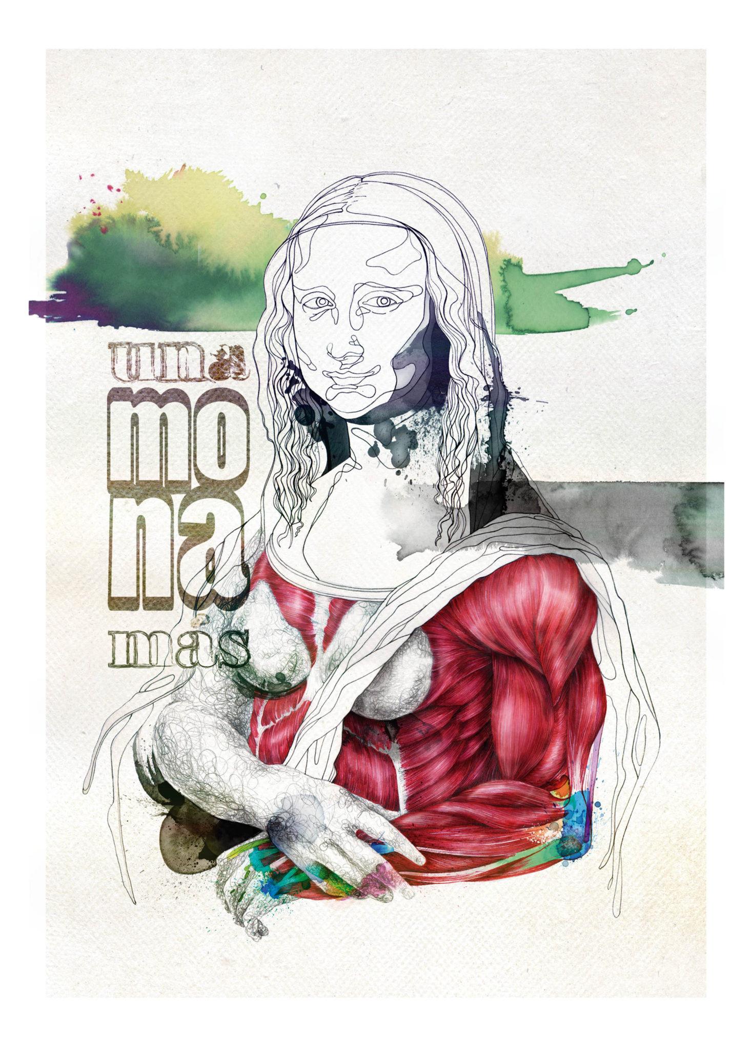 ilustracion MonaLisa_musculante