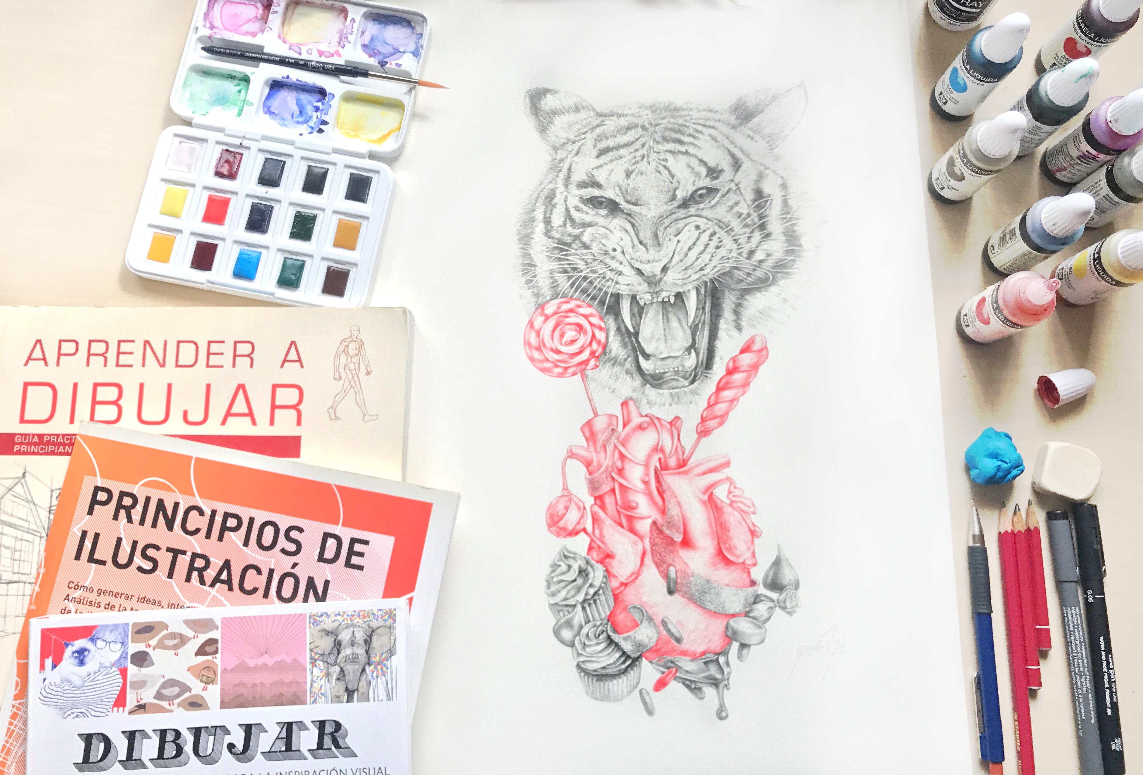 taller DE ILUSTRACIÓN EN BARCELONA GISELLE VITALI