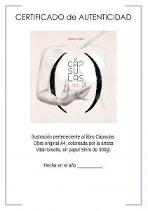 CERTIFICADO libro CAPSULAS