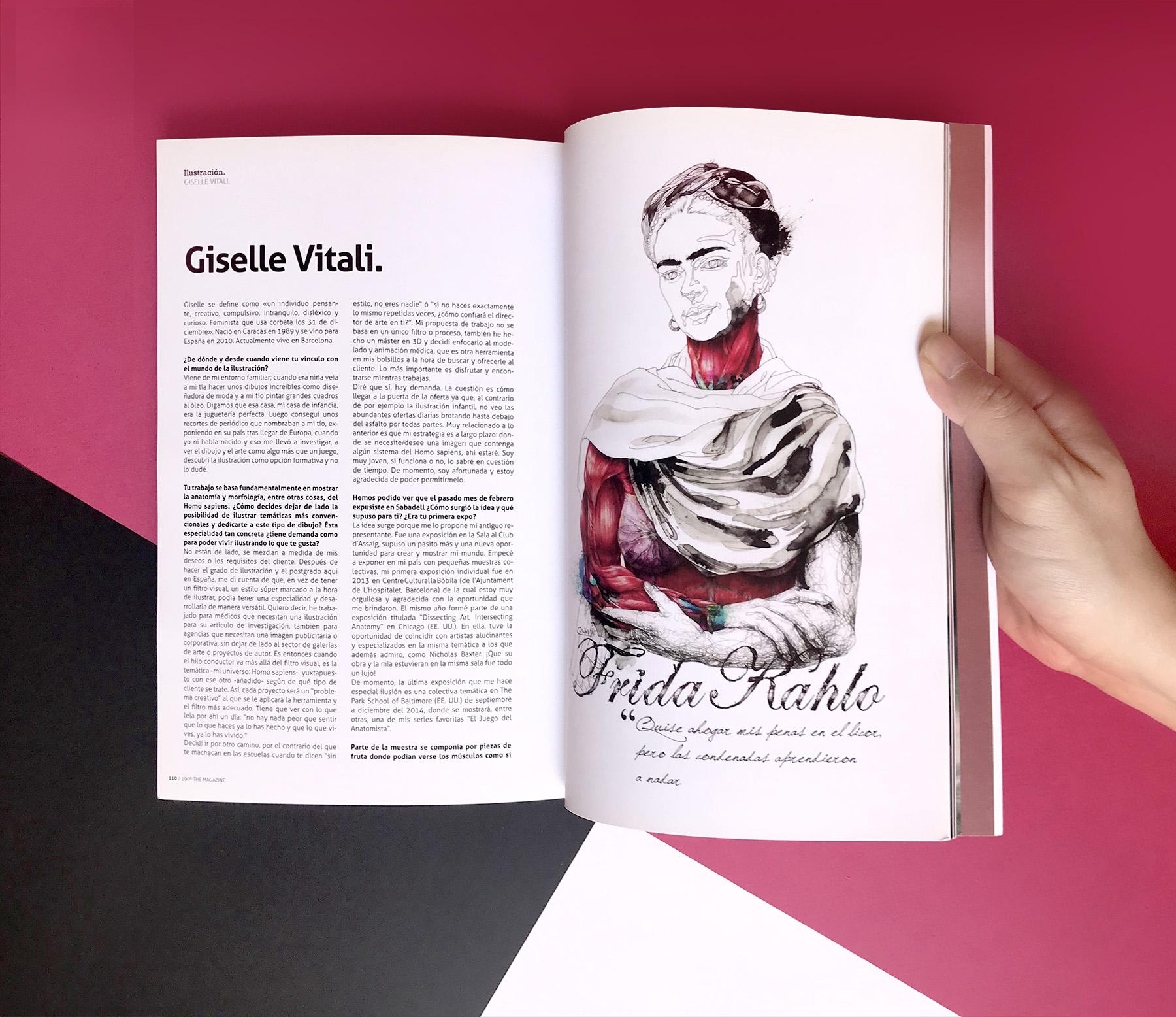 revista de ilustracion y diseño giselle vitali