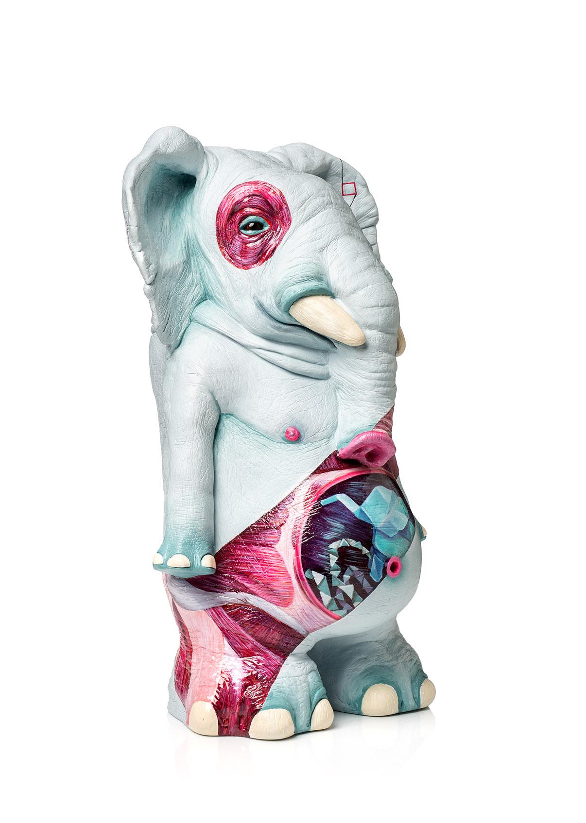 pieza de ceramica para coleccionistas obra de arte ornamante hecha por giselle vitali para la edicion de los ilustrados de ornamante 2017