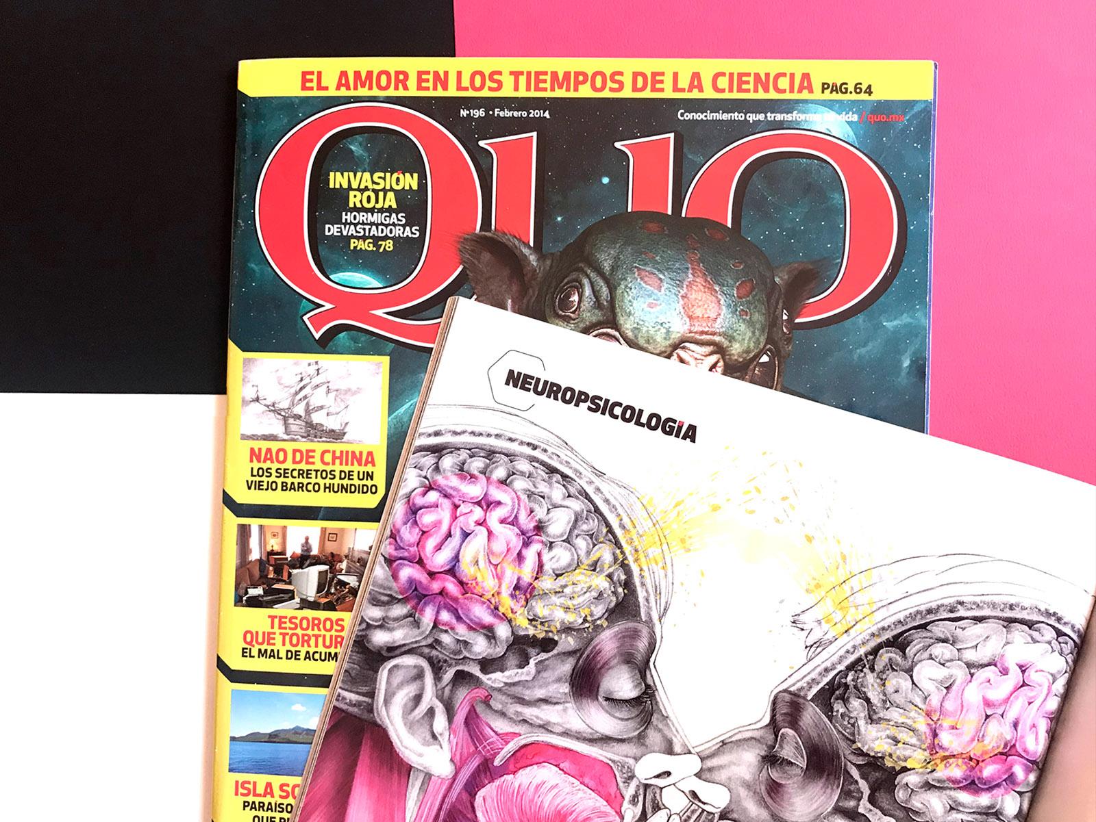 ilustracion para revista quo mexico giselle vitali