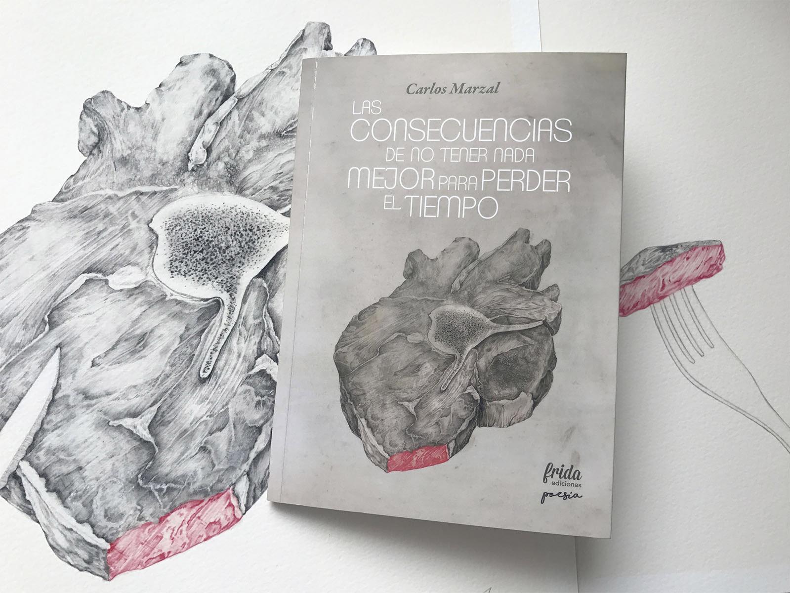 aforismos de Carlos Marzal editado por MueveTuLengua e ilustrador por Giselle Vitali