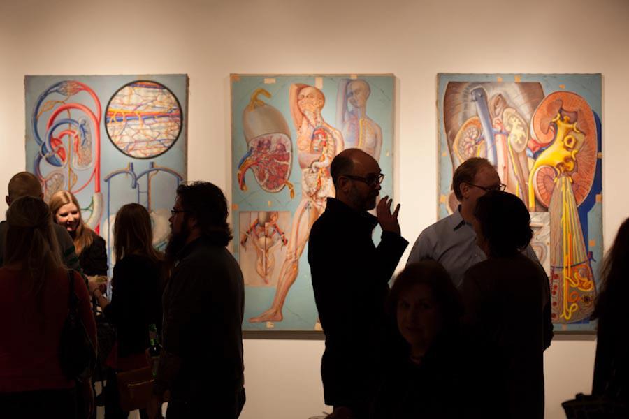 exposicion de de arte anatomico en chicago EEUU giselle vitali